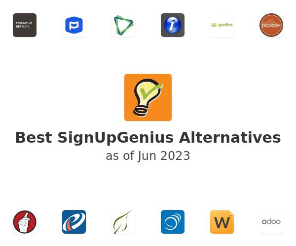 Best SignUpGenius Alternatives