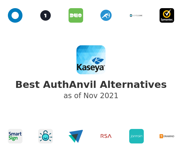 Best AuthAnvil Alternatives