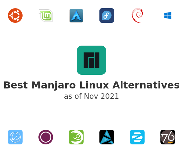 Best Manjaro Linux Alternatives