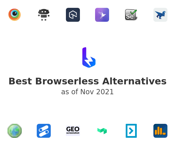 Best Browserless Alternatives