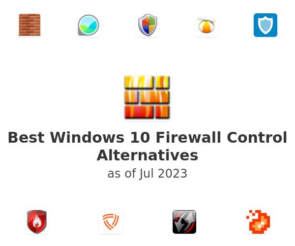 Best Windows 10 Firewall Control Alternatives