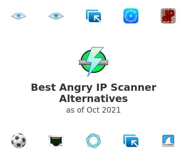 Best Angry IP Scanner Alternatives