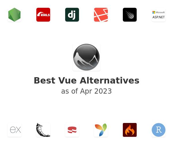 Best Vue Alternatives