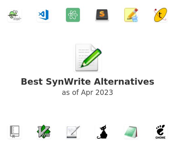 Best SynWrite Alternatives