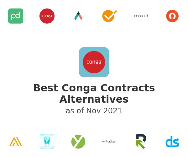 Best Conga Contracts Alternatives