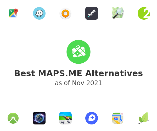 Best MAPS.ME Alternatives