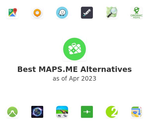 Best MAPS.ME Alternatives