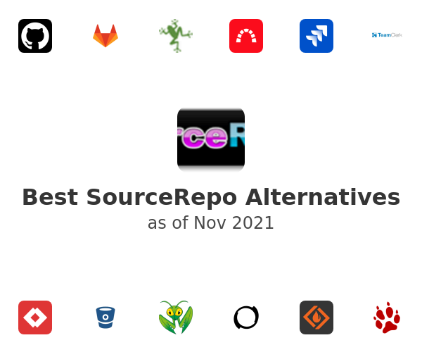 Best SourceRepo Alternatives