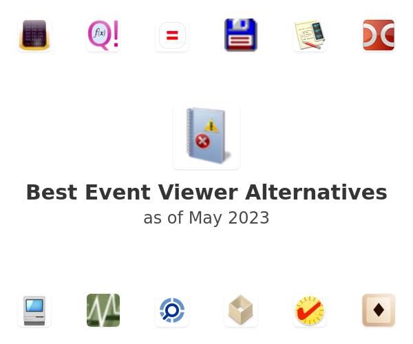 Best Event Viewer Alternatives