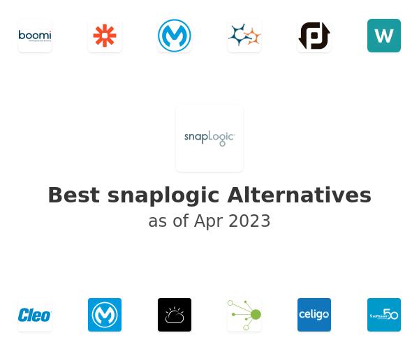 Best snaplogic Alternatives