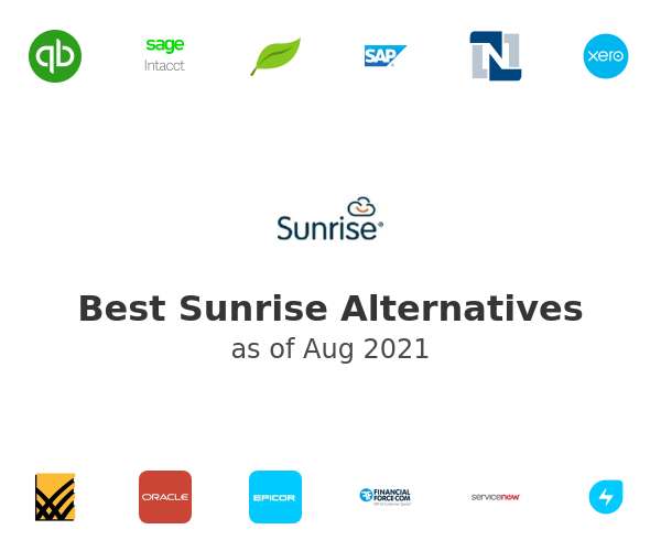 Best Sunrise Alternatives