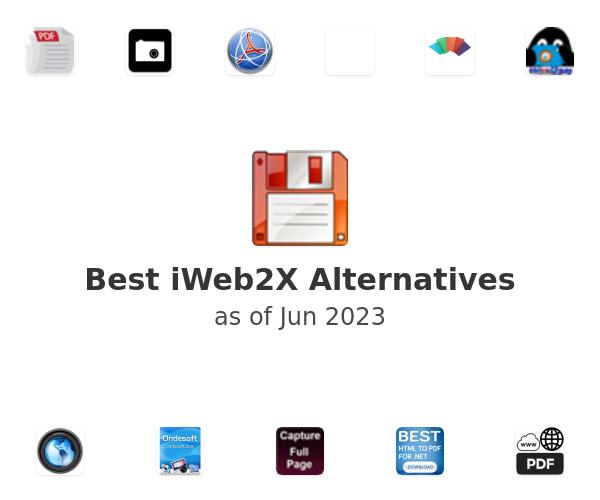 Best iWeb2X Alternatives