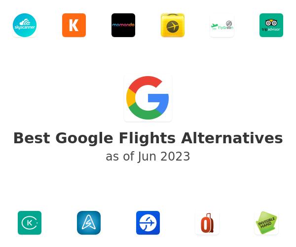 Best Google Flights Alternatives