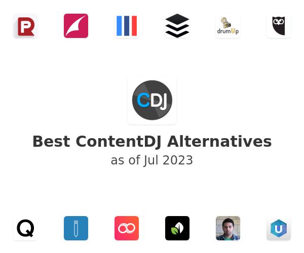 Best ContentDJ Alternatives