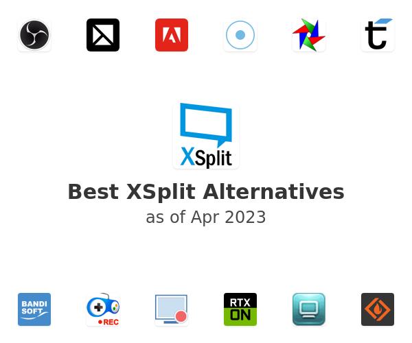 Best XSplit Broadcaster Alternatives