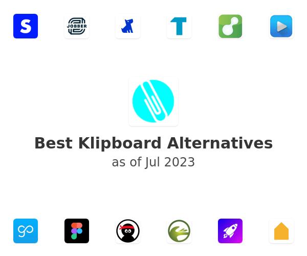 Best Klipboard Alternatives