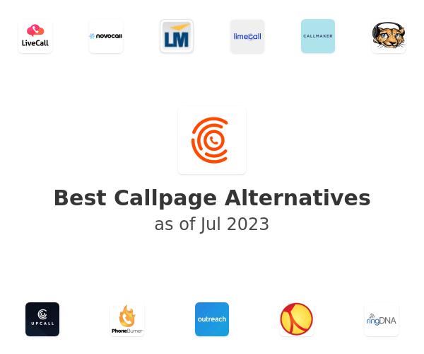 Best Callpage Alternatives