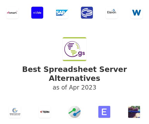 Best Spreadsheet Server Alternatives