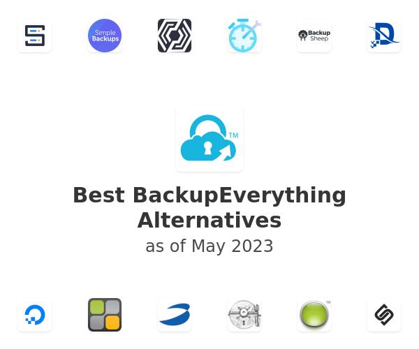Best BackupEverything Alternatives