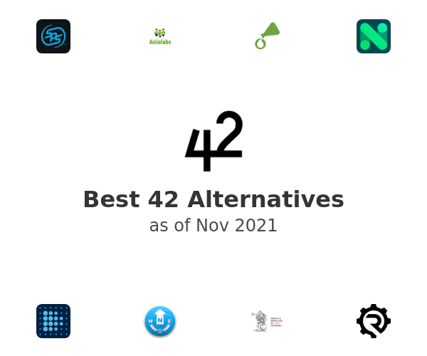 Best 42 Alternatives