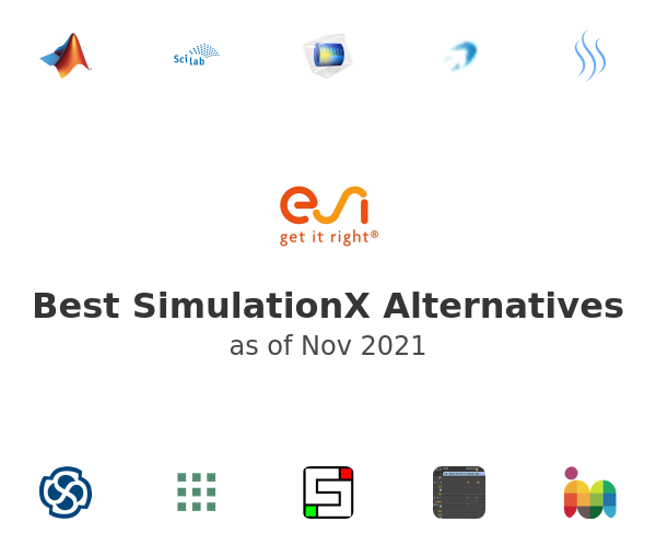 Best SimulationX Alternatives