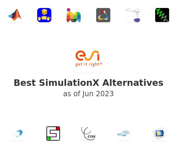 Best SimulationX Alternatives