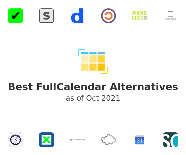 Best FullCalendar Alternatives