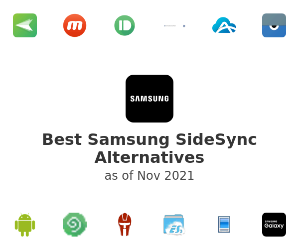 Best Samsung SideSync Alternatives