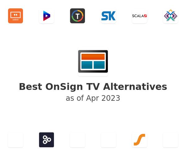 Best OnSign TV Alternatives