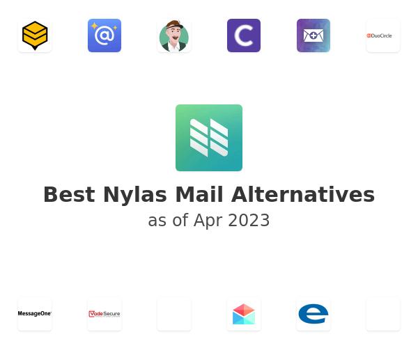 Best Nylas Mail Alternatives