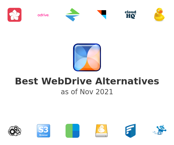 Best WebDrive Alternatives