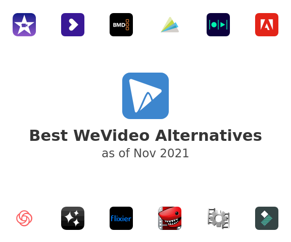 Best WeVideo Alternatives