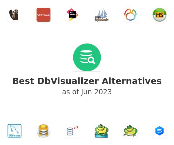 Best DbVisualizer Alternatives