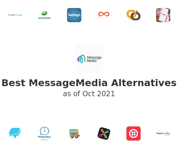 Best MessageMedia Alternatives