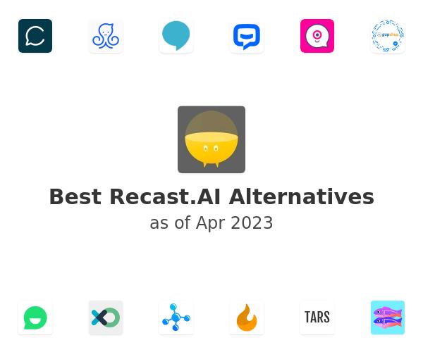 Best Recast.AI Alternatives