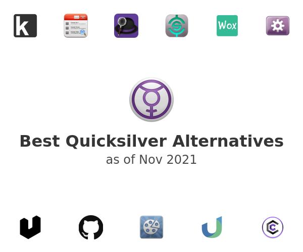 Best Quicksilver Alternatives