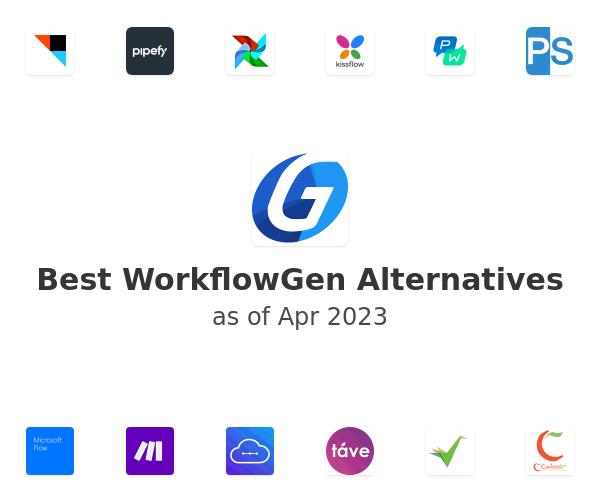 Best WorkflowGen Alternatives