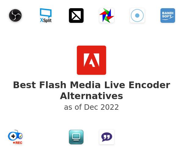 Best Flash Media Live Encoder Alternatives