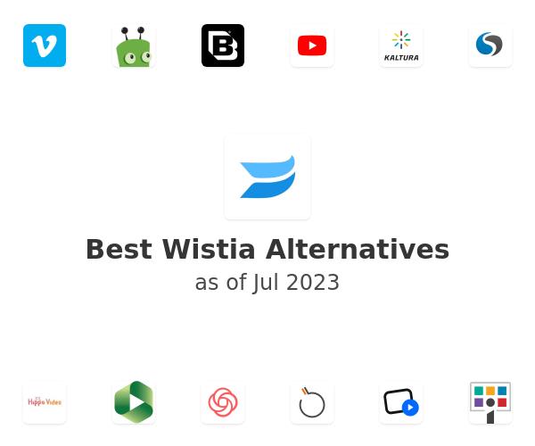 Best Wistia Alternatives