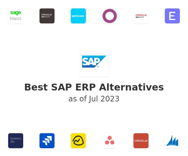 Best SAP ERP Alternatives