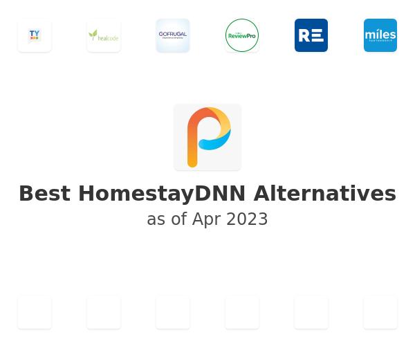 Best HomestayDNN Alternatives