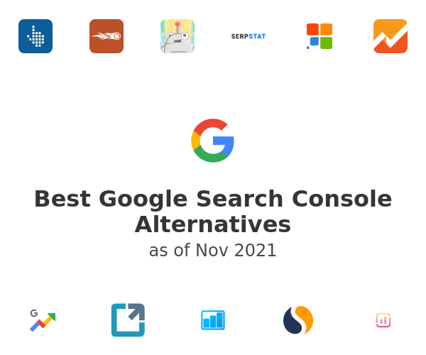 Best Google Search Console Alternatives