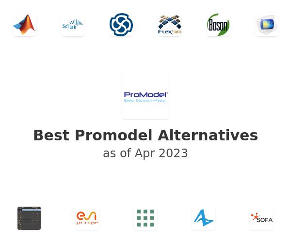 Best Promodel Alternatives