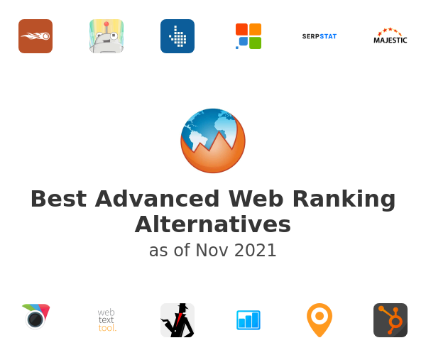 Best Advanced Web Ranking Alternatives