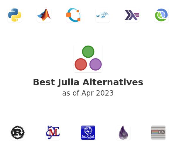 Best Julia Alternatives