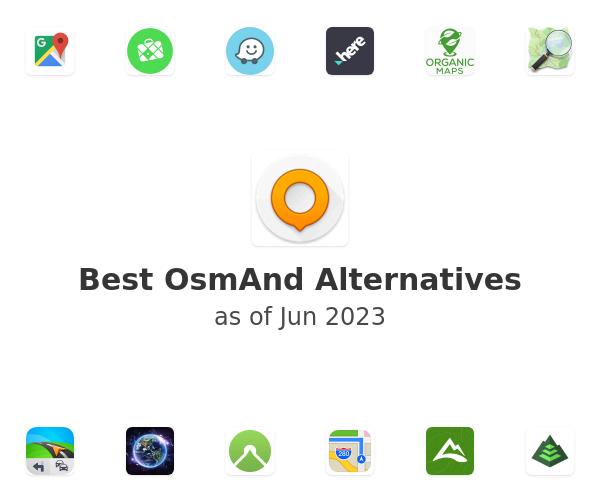 Best OsmAnd Alternatives