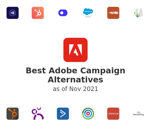 Best Adobe Campaign Alternatives