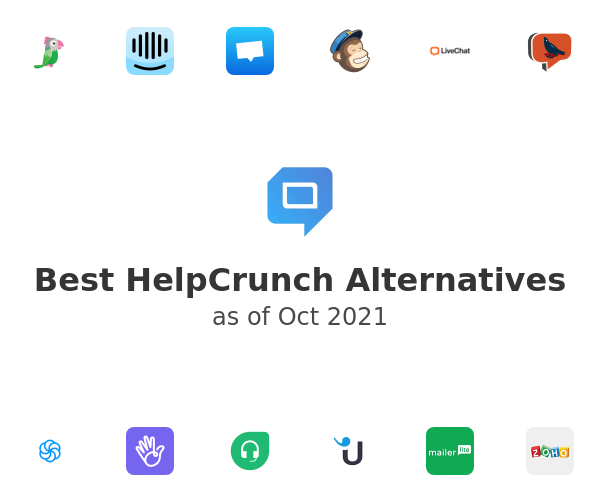 Best HelpCrunch Alternatives
