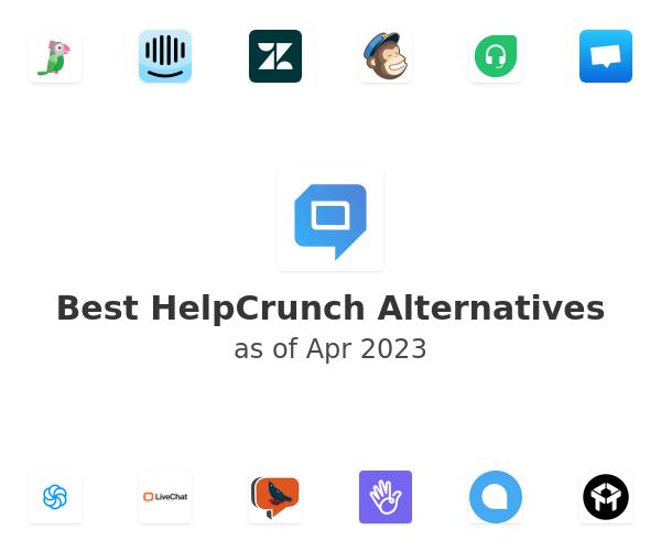 Best HelpCrunch Alternatives