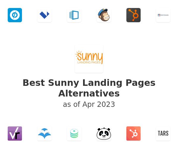 Best Sunny Landing Pages Alternatives